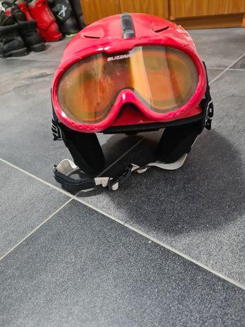 Kask + gogle narciarskie
