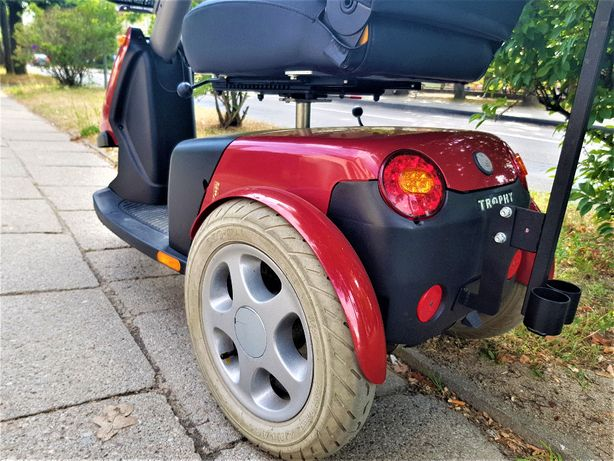 skuter inwalidzki wózek elektryczny trophy 6 amortyzacja WYPRZEDAŻ
