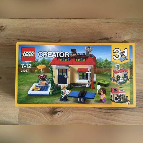 Zestaw LEGO Creator 3w1 Wakacje na basenie 31067 NOWOŚĆ PREZENT