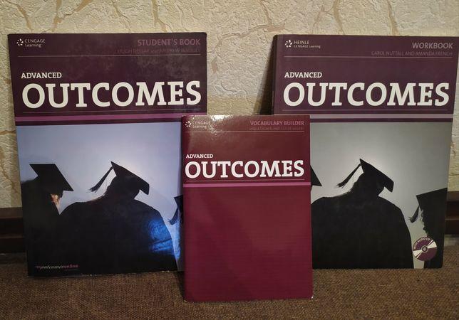 OUTCOMES (учебник ,тетрадь ,диск)  Книга Пособие . Английский язык.