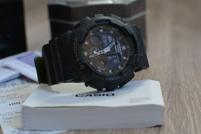 Casio G-SHOCK GA-100L - 1AER Military Series Watch