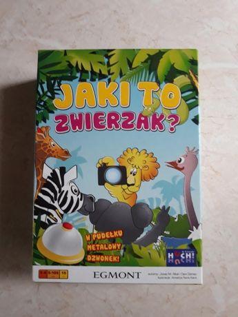 GRA Jaki to zwierzak? + płyta i książka