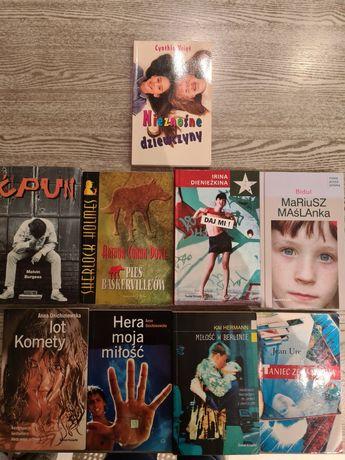 Zestaw 9 książek dla mlodziezy