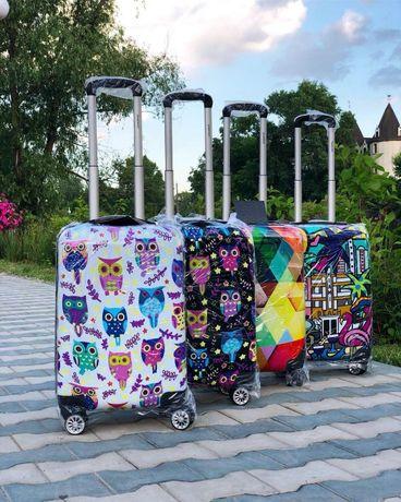 ВЫБОР! Маленький чемодан пластиковый детский с рисунком валіза дитяча