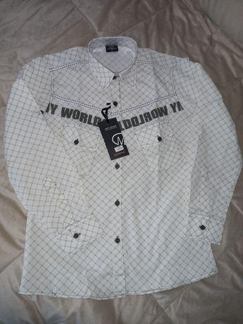 Новая рубашка для школьника  на рост 152 см. Цена  30 грн.