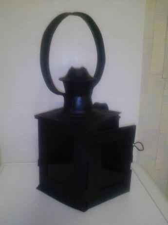 Желенодорожный свечной,керосиновый фонарь 40-50х годов.