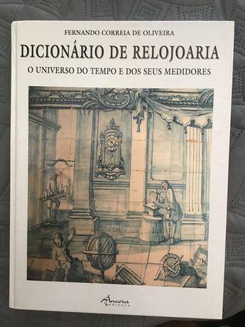 Dicionário de Relojoaria, Livro técnico de Fernando C. Oliveira