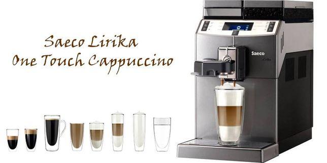 Кофемашина Saeco Lirika Black RI9840/01 Plus Cappuccino Silver RI9851