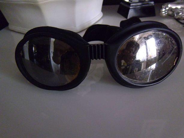 Okulary , gogle na kask - motor , rower, narty itp.