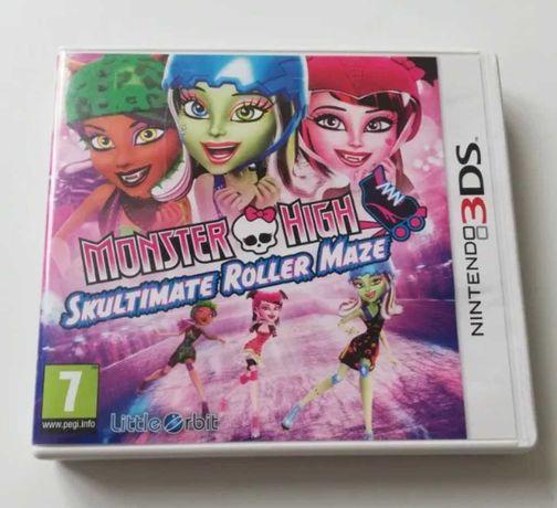 Gra na nintendo 3DS Monster High Skultimate Roller Maze