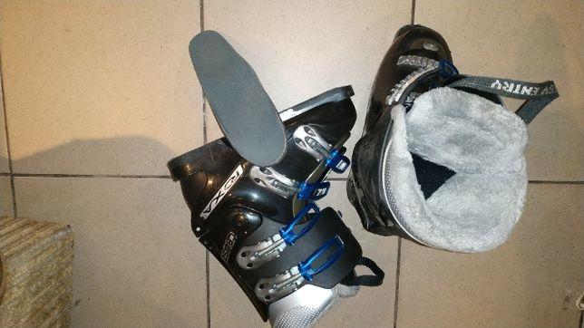 buty narciarskie – damskie, wkładka 24 cm.