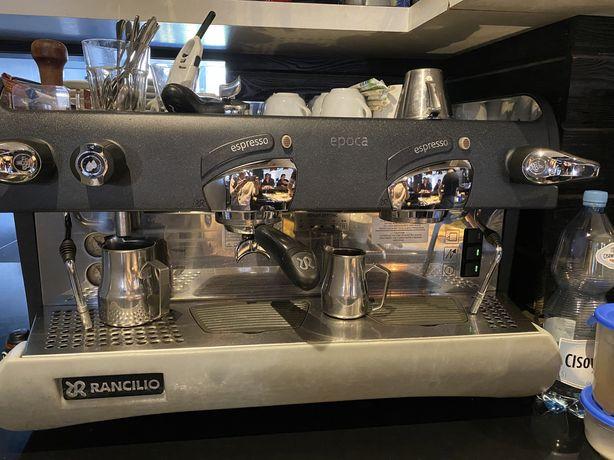 Expres Rancilio Epoca S 2GR + mlynek do kawy+ odbijak w prezencie