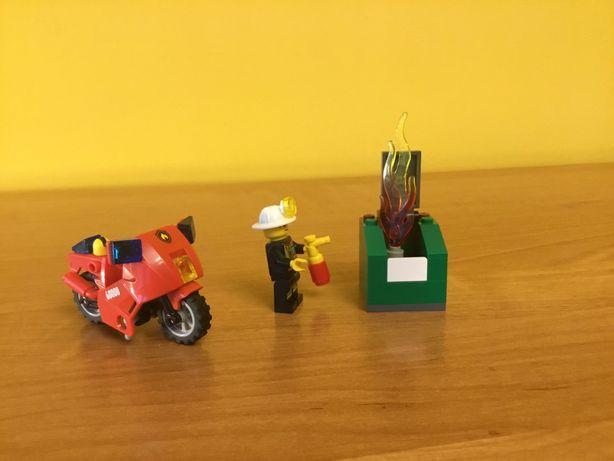 Lego City Straż pożarna motocykl strażacki 60000