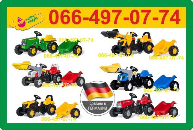 Трактор на педалях / Педальный трактор / Falk / Smoby /Rolly Toys >