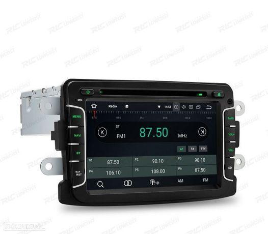 AUTO RADIO GPS DACIA DUSTER DOKKER LOGAN SANDERO LODGY RENAULT CAPTUR ANDROID 8.1 CARPLAY