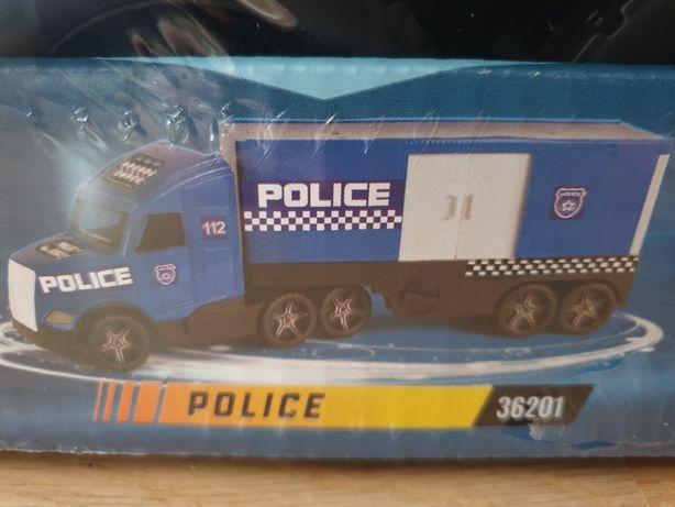 Magic truck Action Policja XXL ciezarowka WADER nowa