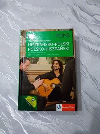 Słownik hiszpańsko polski.
