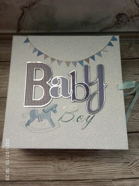 Красивая шкатулка памяти memory box Mayoral Англия подарок ребенку