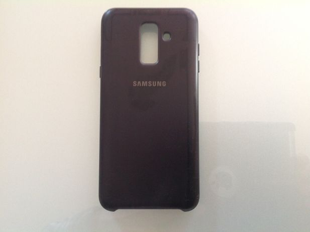 Capa original da Samsung para o A6 Plus c/nova + oferta vidro c/portes