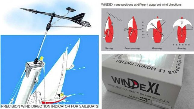 "VELA - Indicador de Vento WINDEX® XL / 570 mm (23"")"