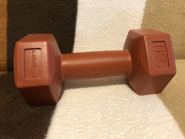 Hantel 1 kilogram do cwiczen