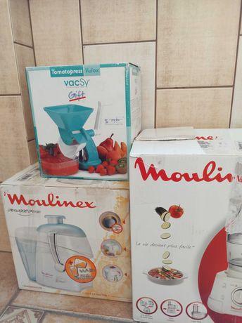 Robot wielofunkcyjny, sokowirówka Moulinex, Zepter