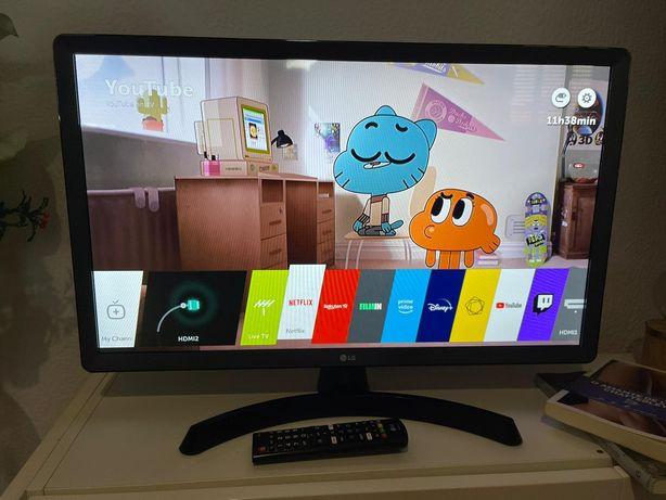 smart TV LG a funcionar perfeitamente