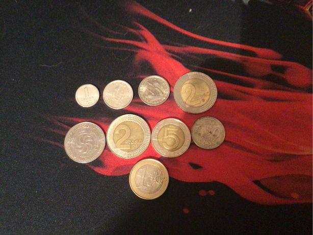 монети разных стран