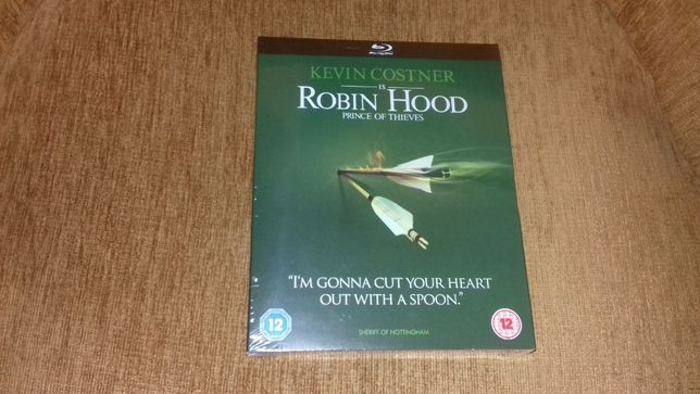Film PL nowy folia [1991] Robin Hood Książę złodziei blu-ray po polsku