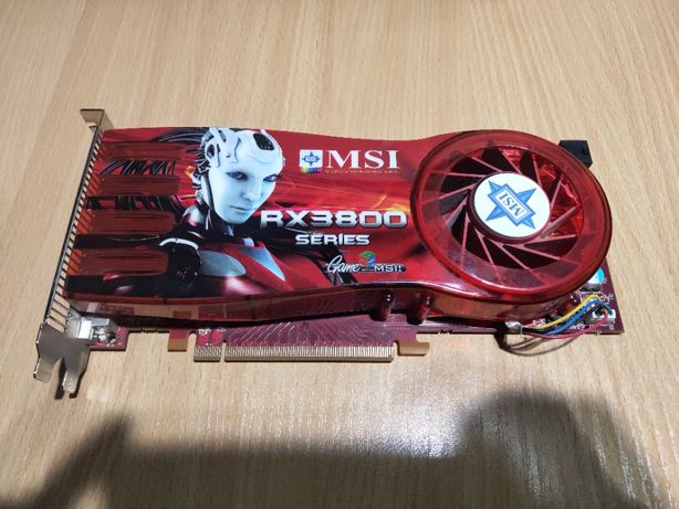 Видеокарта MSI RX3800 512Mb