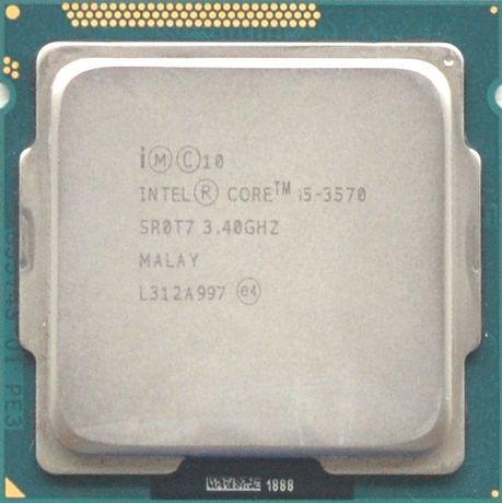 Процессор I5 3570 3.4GHz 6Mb Intel Core 1155 SR0T7 | Гарантия 1 Год