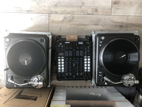 Gramofony 2 x vestax pdx3000, DVS, flighcase, serato, mixars