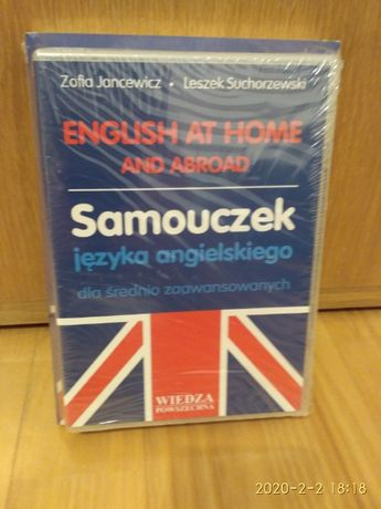 English at Home and Abroad -Samouczek j. angielskiego +3 CD