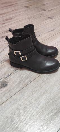 Ботинки кожа кожаные geox осень весна