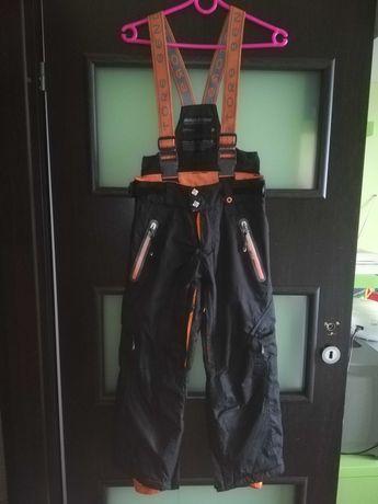 Spodnie chłopięce zimowe narciarskie