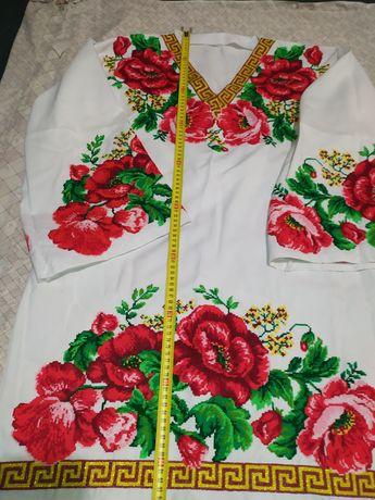 Сукня вишита хрестом