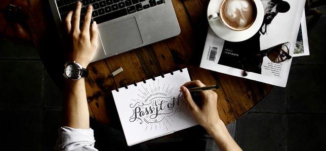 Copywriter, tworzenie i obróbka grafik, obsługa social media