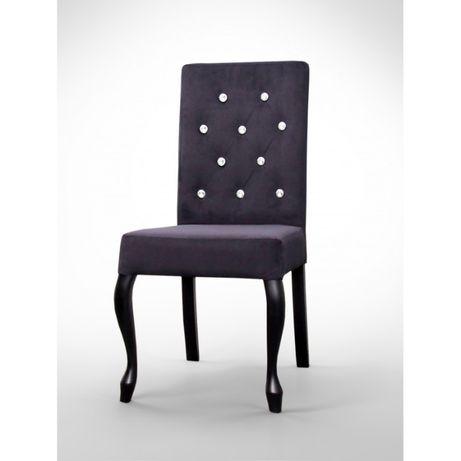 Krzesło w stylu glamour