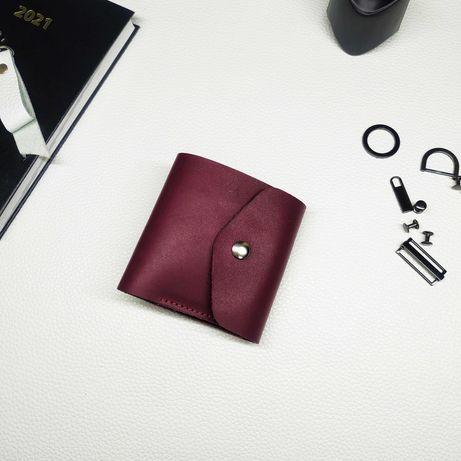 Кожаный женский кошелёк с отделом для мелочи. Подарок девушке Balier