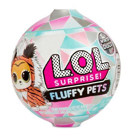 L.O.L. Surprise! Fluffy Pets Зимняя диско-серия «Пушистые питомцы»