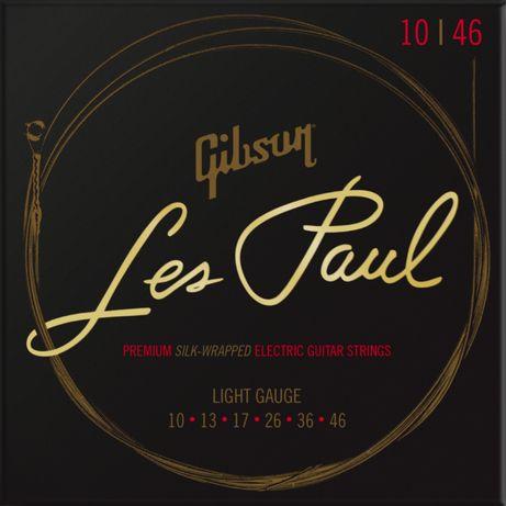 Struny do gitary elektrycznej Gibson Les Paul 10-46