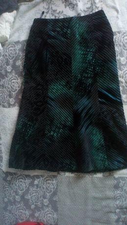 spódnica midi monnari wzorzysta animal print jakby sztruks sztruksowa