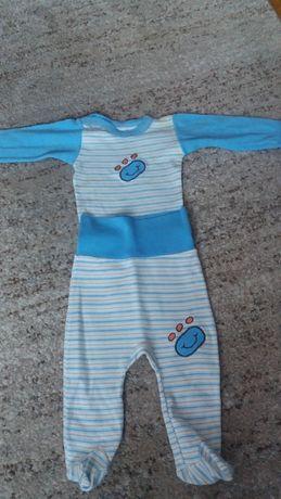Komplet niemowlęcy body półśpiochy