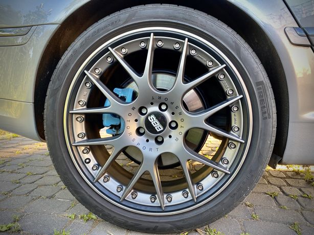 "Koła 21""  BBS CH-R II skręcane + Pirelli nero. Audi, bentley, porsche"