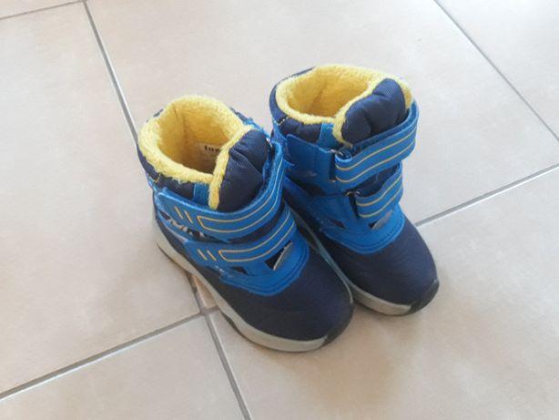 Buty śniegowce chłopięce rozmiar 21