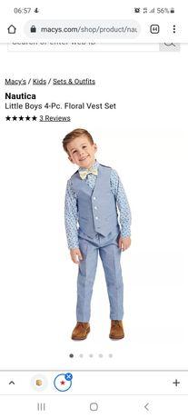 Нарядный костюм для мальчика на торжество на 5 лет
