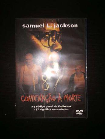 """DVD (como novo) - """"187 Condenação à morte"""""""