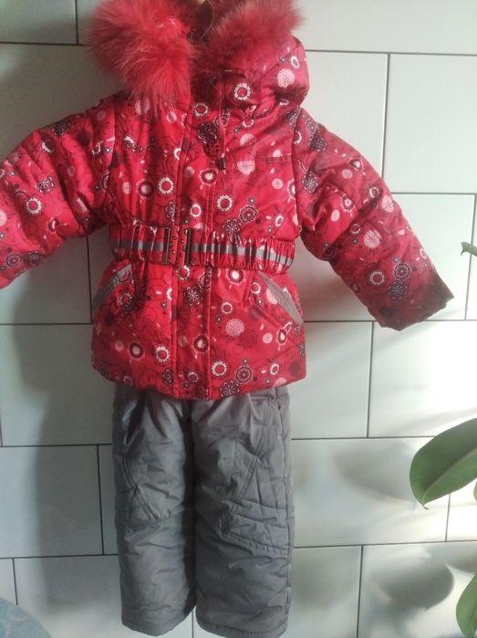 Комбинезон куртка зима 86 92 2-3 фирменный Васищево - изображение 1