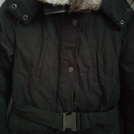 Зимняя куртка пальто пуховик S М 42 44