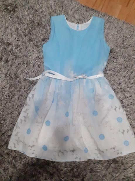 sukienka dla dziewczynki rozm. 140